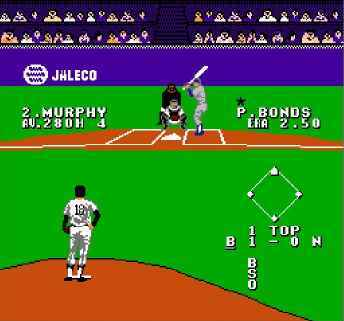 игра Bases Loaded 4 (U) [!p].nes