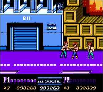 игра Double Dragon II: The Revenge
