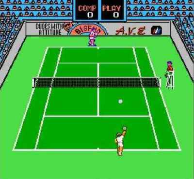 Игра Денди Rad Racket: Deluxe Tennis II (Радио Ракетки: Делюкс Теннис 2) онлайн
