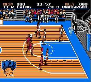 Игра Денди Tecmo NBA Basketball (Текмо НБА Баскетбол) онлайн