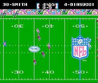 игра Tecmo Super Bowl