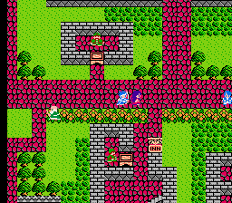 Игра Денди Dragon Warrior III (Воин Дракон 3) онлайн