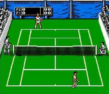 Игра Денди Jimmy Connors Tennis (Теннисист Джимми Коннорс) онлайн